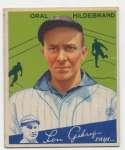 1934 Goudey 38 Hildebrand VG-Ex