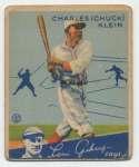 1934 Goudey 10 Klein Fair-Good
