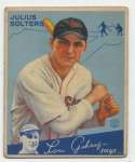 1934 Goudey 30 Solters GVG