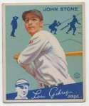 1934 Goudey 40 Stone VG+