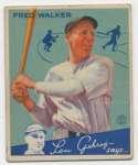 1934 Goudey 39 Walker GVG