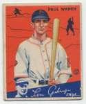 1934 Goudey 11 Waner Good
