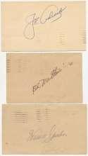 GPC  Boston Braves Autograph Collection (68 pcs) 9