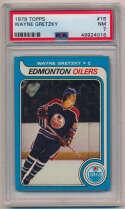 1979 Topps 18 Wayne Gretzky RC PSA 7