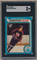 1979 Topps 18 Gretzky RC SGC 3
