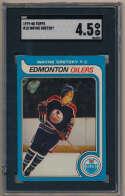 1979 Topps 18 Gretzky RC SGC 4.5 (centered)