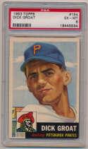 1953 Topps 154 Dick Groat PSA 6