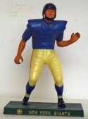 1960 Hartland Statue  New York Giants Lineman VG