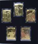 1997 Pro Mint Diamond Edition Gold Mini Cards  Set of 10 in Original Case w/Jeter Nm-Mt