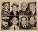 Mem  Japanese Military WW II Original Wire Photo VG