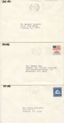 Rockwell, Norman Signed Envelopes (lot of 5) 9.5