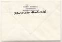 Rockwell, Norman Signed Personal Envelopes 9.5