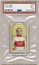 1911 C55 34 Frank Glass PSA 3.5