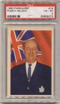 1963 Parkhurst 19 Imlach PSA 4 (looks much nicer)