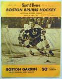 Program  1968 Bruins/Canadiens Signed Program (15 sigs) 8