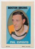 1970 Topps Sticker Stamps  Esposito, P Ex-Mt+