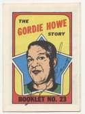1971 Topps Booklet 23 Gordie Howe 8