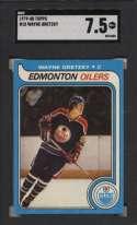 1979 Topps 18 Gretzky RC SGC 7.5