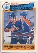 1983 OPC 23 M.Messier/W.Gretzky HL NM+