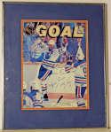 Program  Gretzky, Wayne Signed Magazine 9.5
