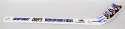 Hanson Brothers Signed Slap Shot Mini Stick 9.5 JSA LOA (CARD)