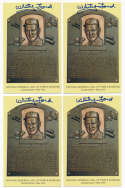 Yellow HOF Plaque 51 Whitey Ford 9.5 (lot of 10)