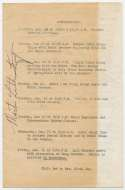 Program  King, Martin Luther Handwritten Speech and Signed Program 9.5