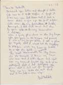 Letter  Hubbell, Carl (World Class, Incredible Content) 9.5 JSA LOA