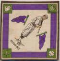 1914 B18 Blanket 36.1 Miller Huggins (purple pennants) Ex-Mt+