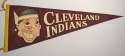 1955 Pennant  Cleveland Indians NM