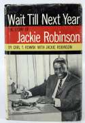 Book  Robinson, Jackie Signed Wait Till Next Year 9.5 PSA DNA (FULL)