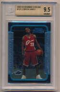 2003 Bowman Chrome  LeBron James RC Beckett 9.5