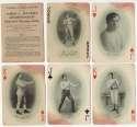 1909 James Jeffries  Complete Boxing Set (55) VG-Ex