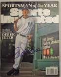 Program  Jeter, Derek Signed 2009 S.I. 9.5
