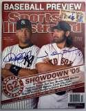 Program  Jeter/Damon Signed 2005 S.I. 9.5