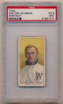 1909 T206 230 Johnson (portrait) PSA 3 mk