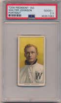 1909 T206 230 Johnson (portrait) PSA 2.5