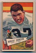 1952 Bowman Large 108 Johnston SP VG+