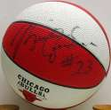 Autographed Basketball  Jordan, Michael Signed Mini-Basketball 8 JSA LOA