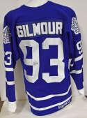 Jersey  Gilmore, Doug Blue Toronto Maple Leafs Jersey 9.5