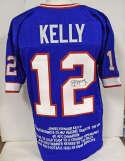 Jersey  Kelly, Jim Blue Buffalo Bills Jersey 9.5 JSA LOA (CARD)