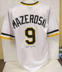 Jersey  Mazeroski, Bill Home White Pittsburgh Pirates Jersey 9.5