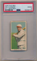 1909 T206 250 Kleinow (New York, with bat) PSA 2 (Old Mill)