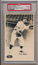 1933 Worch Cigar American Association  Fred Koster PSA 2