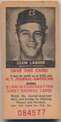 1954 NY Journal American 9 Clem Labine VG-Ex