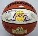 Autographed Basketball  Minneapolis Lakers Reunion w/George Mikan 9.5 JSA LOA (FULL)