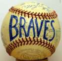 1948 Braves  Team Ball 8