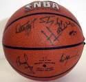 Auto Basketball  Key NBA Stars (10 sigs) 9 JSA LOA (FULL)