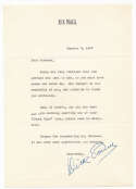 Letter  Powell, Dick 1947 TLS 9