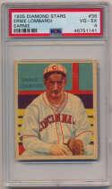 1934 Diamond Stars 36.1 Ernie Lombardi PSA 4